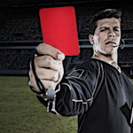 Football red card explained