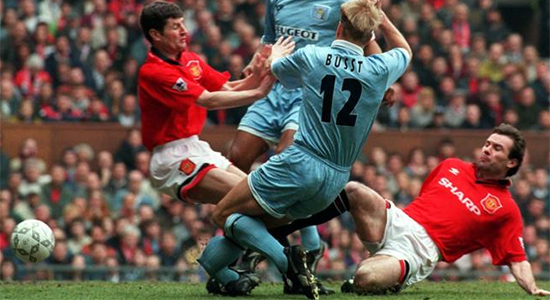 David Busst injury