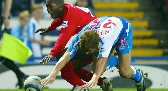 Djibril Cisse injury